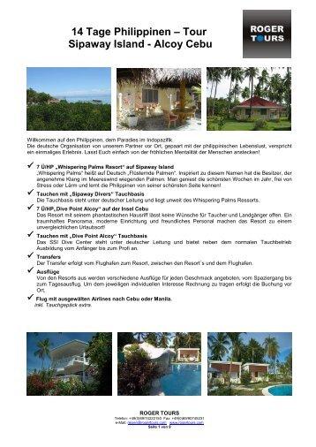 """Whispering Palms Resort"" auf Sipaway Island - Roger Tours"