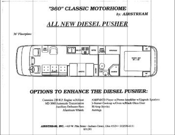 Airstream Floor Plans Awesome New Airstream Classic Woodland