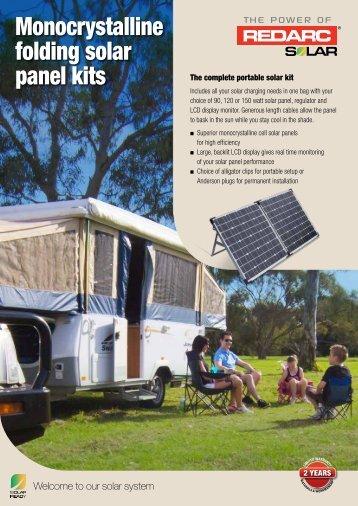 Product Brochure Mono Kits - REDARC Electronics