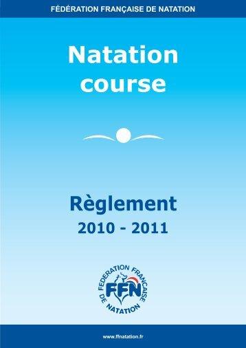 Nat course (28 septembre).indd - Fédération Française de Natation