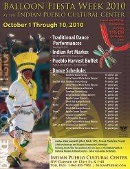 Balloon Fiesta Week 2010 - Indian Pueblo Cultural Center