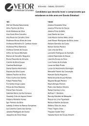 Lista da Entrevista 2013
