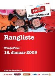 Rangliste Rivella Family Contest - LIVE-Wintersport