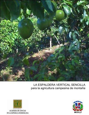 Brochure Espaldera Vertical Sencilla