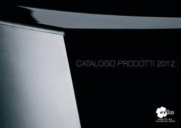 CATALOGO PRODOTTI 2012