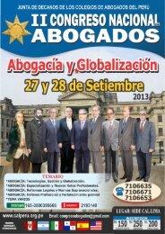 """ABOGADOS - Colegio de Abogados de Lima"