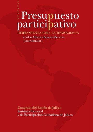 Presupuesto participativo - Instituto Electoral y de Participación ...
