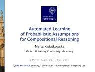 Untitled - Quantitative Analysis and Verification