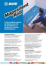 Mapesilent Roll Mapesilent Roll - Mapei