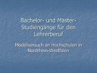 Bachelor- und Master- Studiengänge für den ... - innovelle-bs