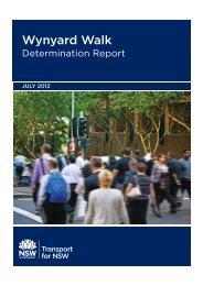 Wynyard Walk Determination Report (pdf 1.7MB) - Transport for ...