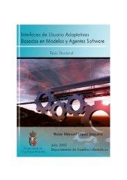 Adaptive User Interfaces Based on Model and Software ... - UsiXML