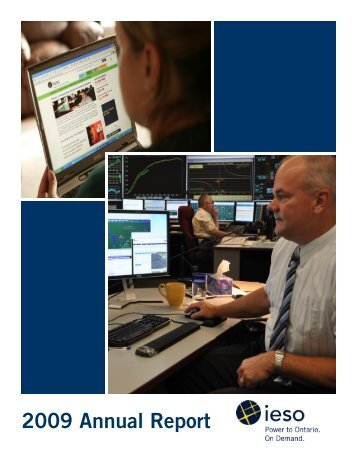 IESO 2009 Annual Report - Independent Electricity System Operator