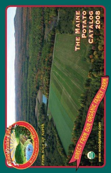 downloaded the catalog - Wood Prairie Farm