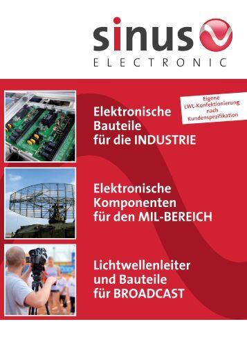 Deutsch PDF - SINUS Electronic