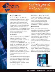 Read more about VTOS at Jetter - Kozio