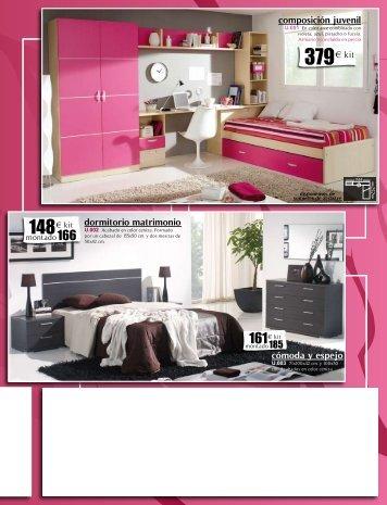 composición juvenil dormitorio matrimonio ... - Aempresaris.org