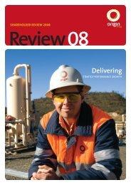Shareholder review - Origin Energy