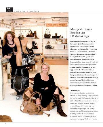 Maartje de Bruijn- Bruning van EB shoes&bags; - The right SIZE