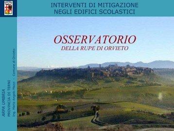 Angelo Mario Mazzi - Comune di Orvieto - ARPA Umbria