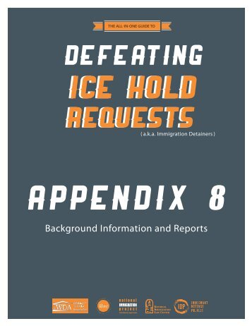 Appendix 8 - National Immigration Project of the National Lawyers ...
