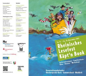 Flyer Käpt´n Book 2013 - Schloss Homburg