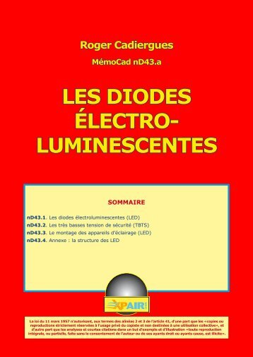 Les diodes luminescences
