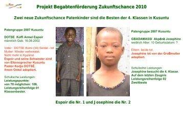 mit 4 pdf-Folien zum Durchklicken - Togo-Kinder Zukunftschance eV