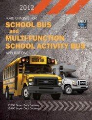 School Bus Brochure - Ford