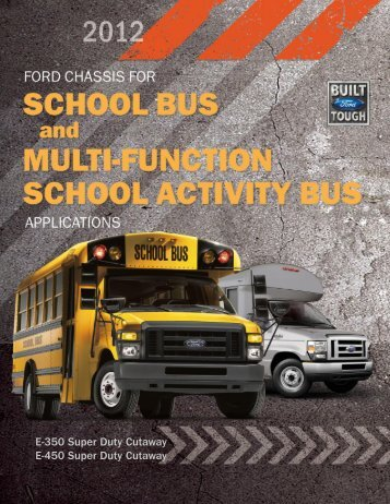 School Bus Brochure - Ford