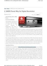 C 390DD Paves Way for Digital Revolution - 4Audio