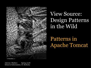 Design Patterns in the Wild Patterns in Apache Tomcat - Courses