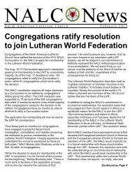 Color - North American Lutheran Church