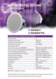 RCS8/T - penton
