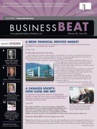 a brisk financial services market - Madison Magazine