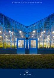 NC Alexandria Ag-Tech Center - North Carolina Biotechnology Center