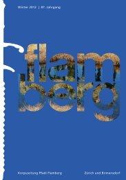 Gesamtausgabe «flamberg» Winter 3/2012 ... - Pfadi Flamberg
