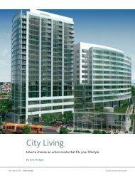 City Living - Vulcan Real Estate