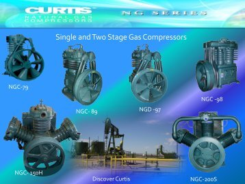 Single and Two Stage Gas Compressors - CH Reed Inc.