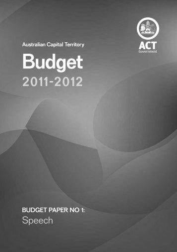 242KB - Treasury - ACT Government