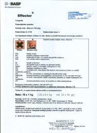 Effector; 3.klase; 10 g ; 0,4 kg - VAAD