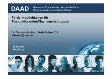 DAAD - EU-Hochschulnetzwerk Sachsen-Anhalt