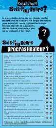 Suis-je du genre procrastinateur