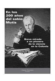 En los 200 años del sabio Mutis