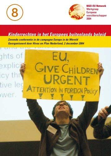 EU geef kinderen voorrang - Webklik