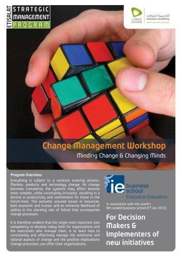 Change Management v1.3 - Etisalat Academy