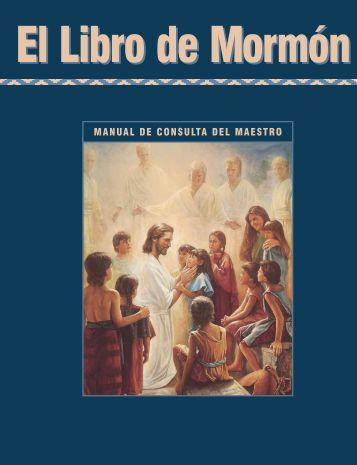 El Libro de Mormón - Seminaries & Institutes of Religion