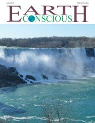 June 2013 ISSN 2070-4593 - Earth Conscious Magazine