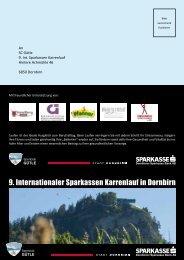 9. Internationaler Sparkassen Karrenlauf in Dornbirn
