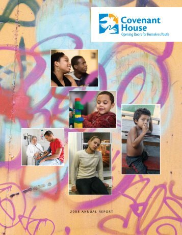 2008 Annual Report (PDF) - Covenant House